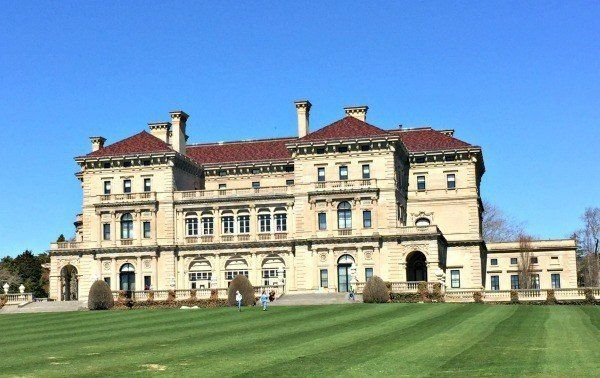 The Newport Mansions With Kids