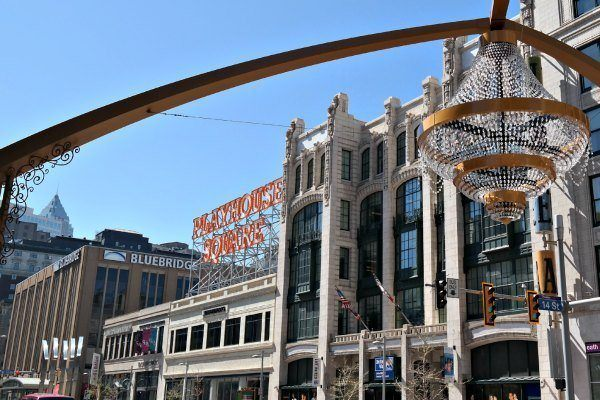 Playhouse Square in Cleveland, OH