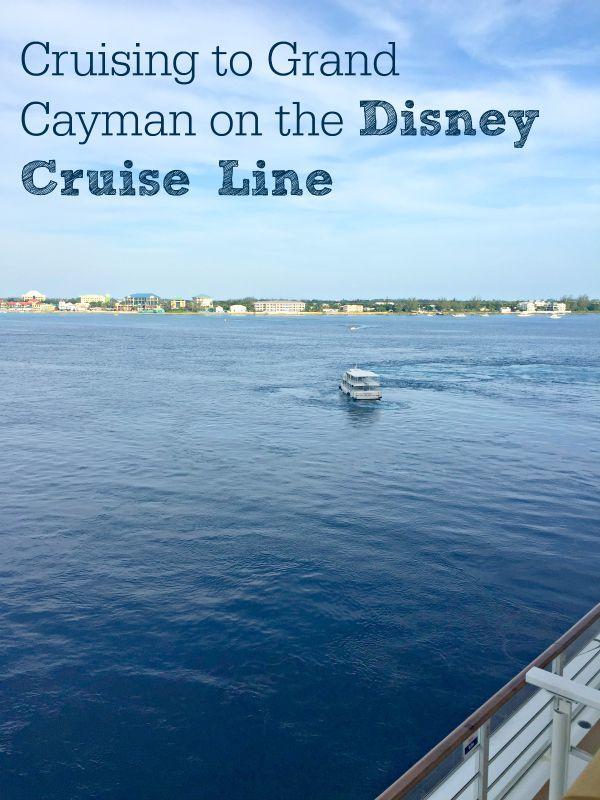 Cruising to Grand Cayman on the Disney Cruise Line