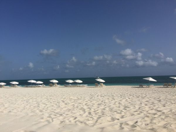 Grace Bay Beach at the West Bay Club