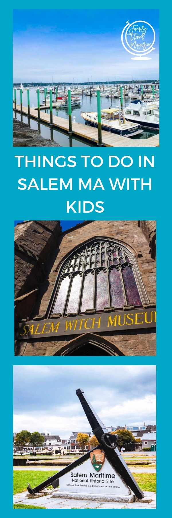 Things to do in Salem MA with kids, including Halloween activities in October, summer activities, historical attractions, and Salem Witch Trial attractions.