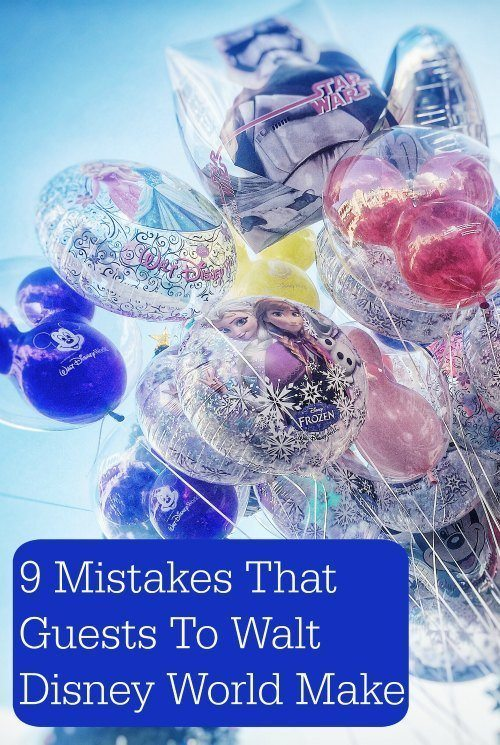 Mistakes People Make at Walt Disney World