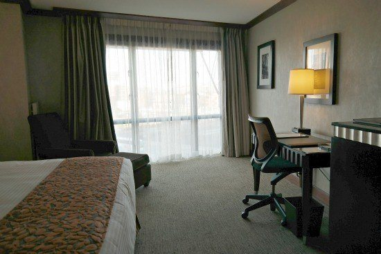 A room at the Bostonian Hotel