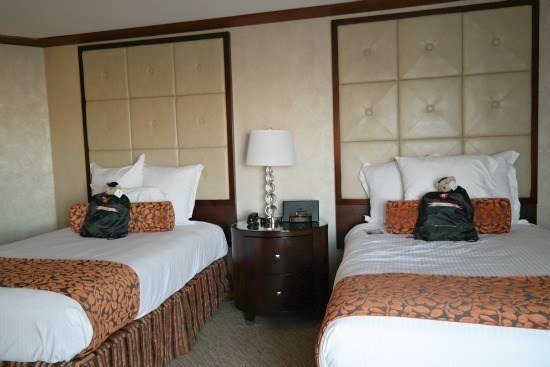 A Double Bed Room at the Bostonian Hotel
