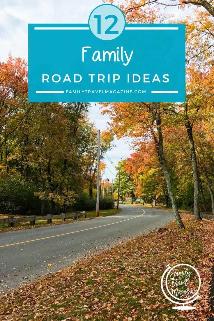 Looking to hit the open road with your family? Here are 12 of the best road trips to take across the USA and Canada.
