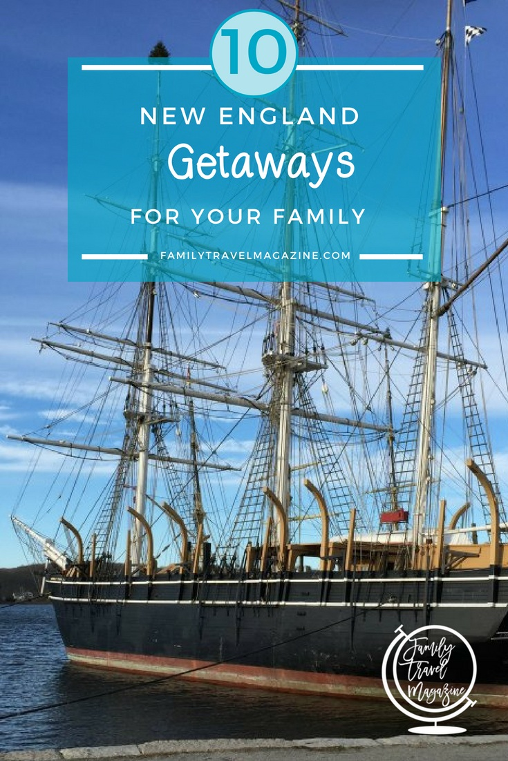Family Weekend Getaways in New England If you live in New England, you are lucky to have a variety of different vacation options available just a short distance away. Planning a weekend getaway with your family? Here are 10 New England weekend getaways for families including small towns, cities, and everything in between!