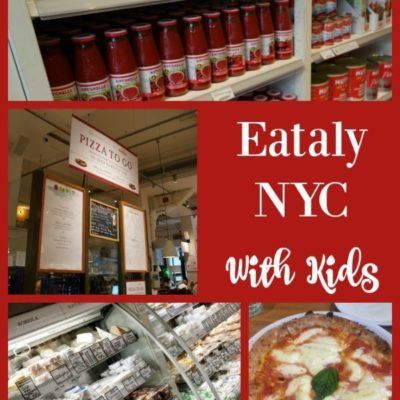 Visiting Eataly NYC With Kids