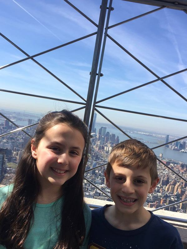 Empire State Building With Kids