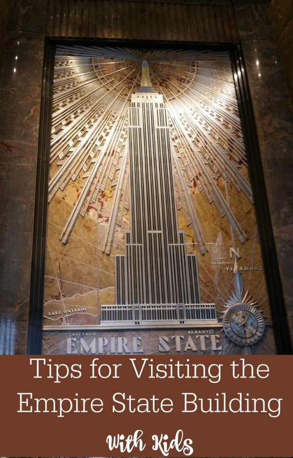 Headed to NYC? Here are some tips for visiting the Empire State Building with Kids.