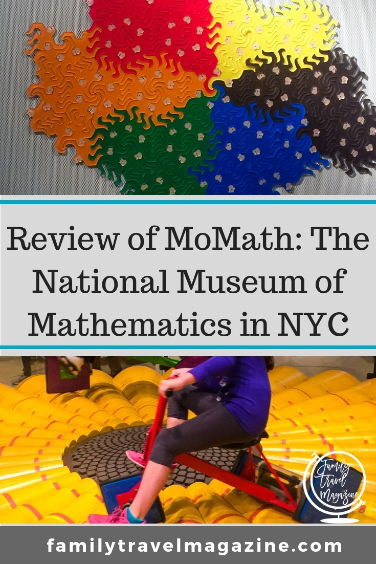 Review of MoMath: The National Museum of Mathematics in NYC