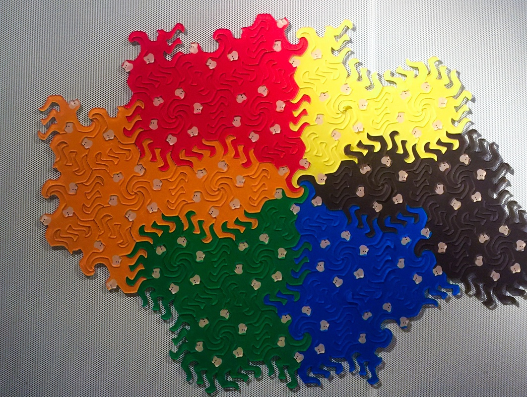 an interactive exhibit at MoMath