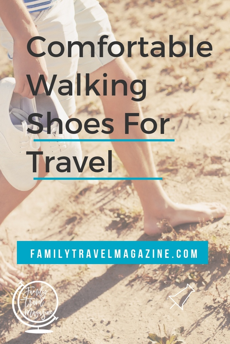 My favoritecomfortable stylish walking shoes for travel, including sandals and boots.