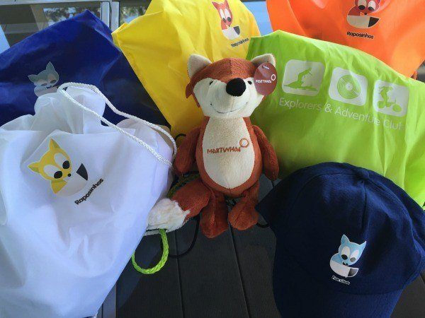 Gift Bags for Kids at Martinhal Resorts