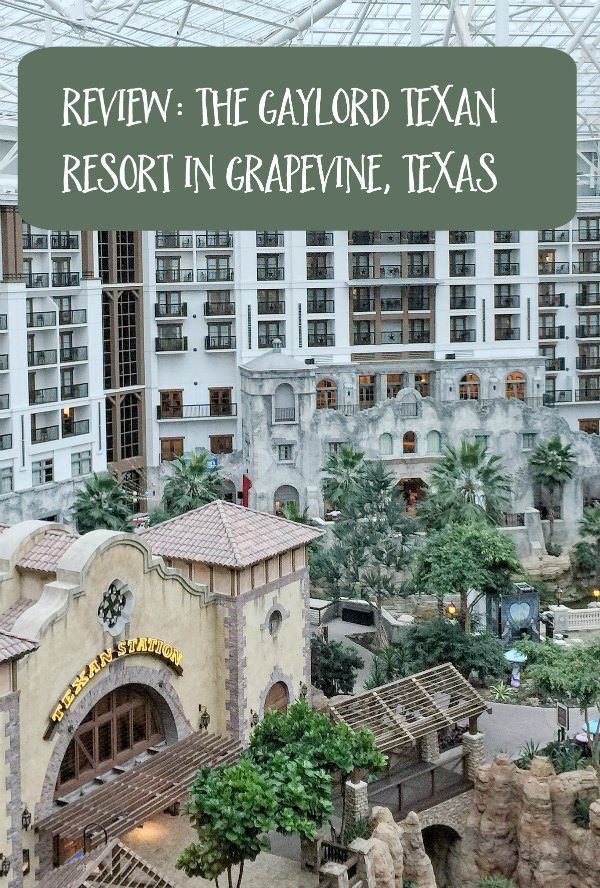 Review of the Gaylord Texan Resort, located in Grapevine, Texas between Dallas and Fort Worth. This beautiful family-friendly resort offers multiple restaurants, an outdoor waterpark, a spa, and many more amenities.