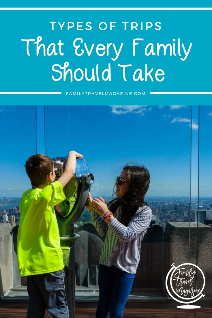 Family travel inspiration with the types of trips all families should take, including cruise vacations and National Park vacations. Great inspiration for building your bucket list.