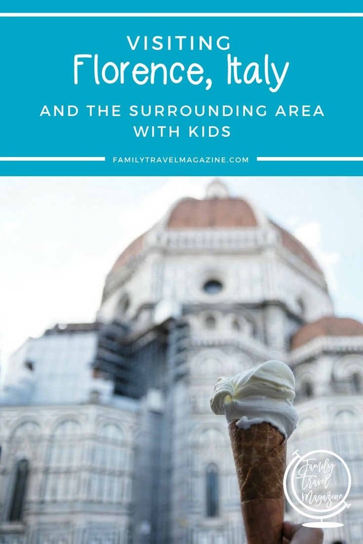 Things to do in Florence and the surrounding area with kids, including day trips from Florence to places like Pisa and Lucca.