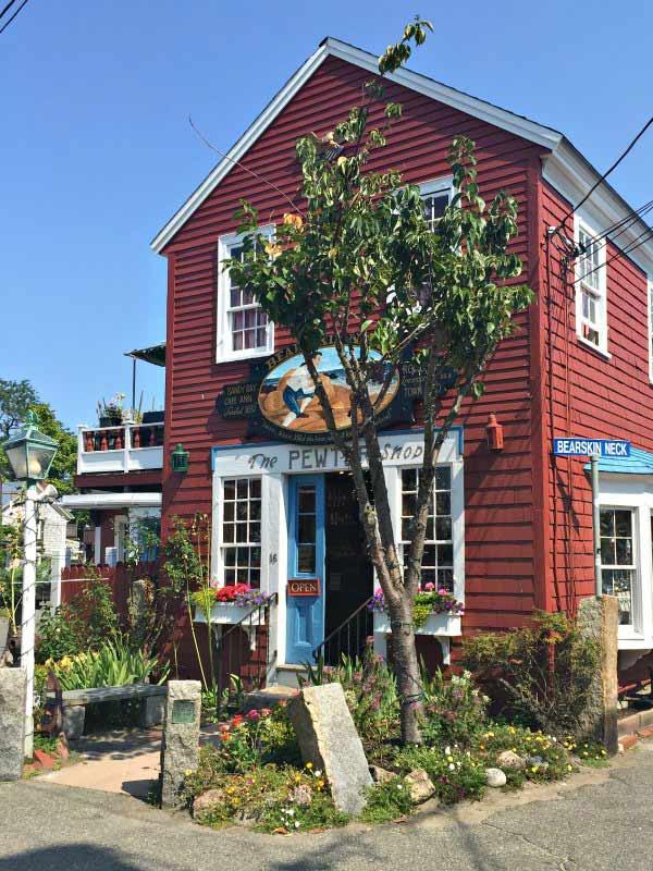 Pewter Shop in Bearskin Neck