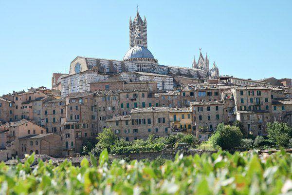 Italian city of Siena, home of the Palio