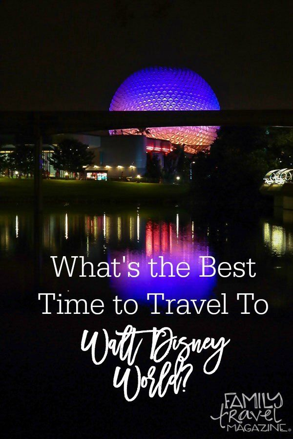 Tips and suggestions for when the best time to visit Disney World is including info on crowds, weather, special events, and more!
