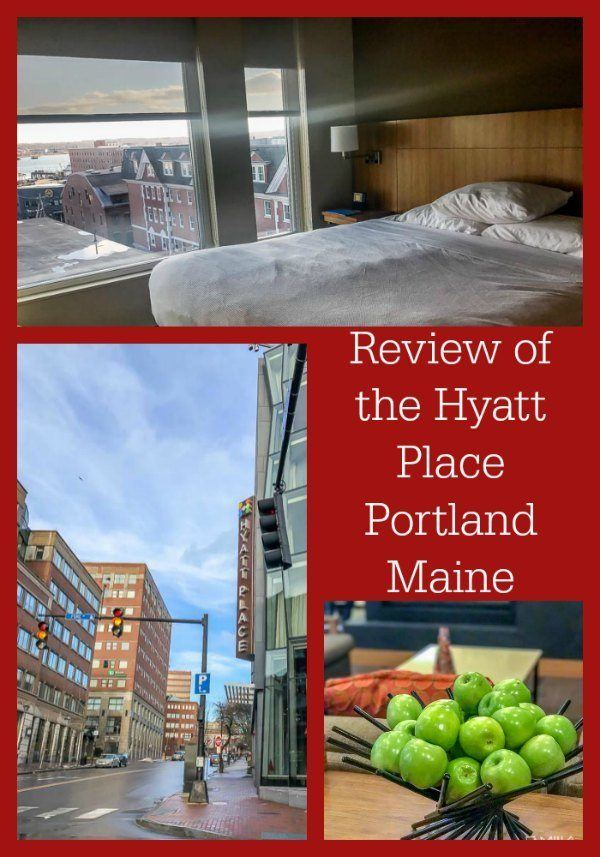Review of the Hyatt Place Portland Maine, a family-friendly hotel located in the Old Port area of Portland. It's a central location, near shops, the waterfront, and popular Portland restaurants.
