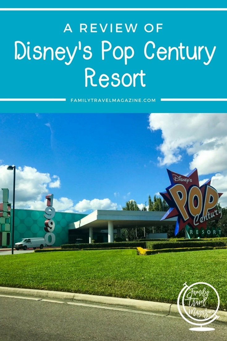 A review of Disney's Pop Century resort - one of the value hotels on property at Walt Disney World.