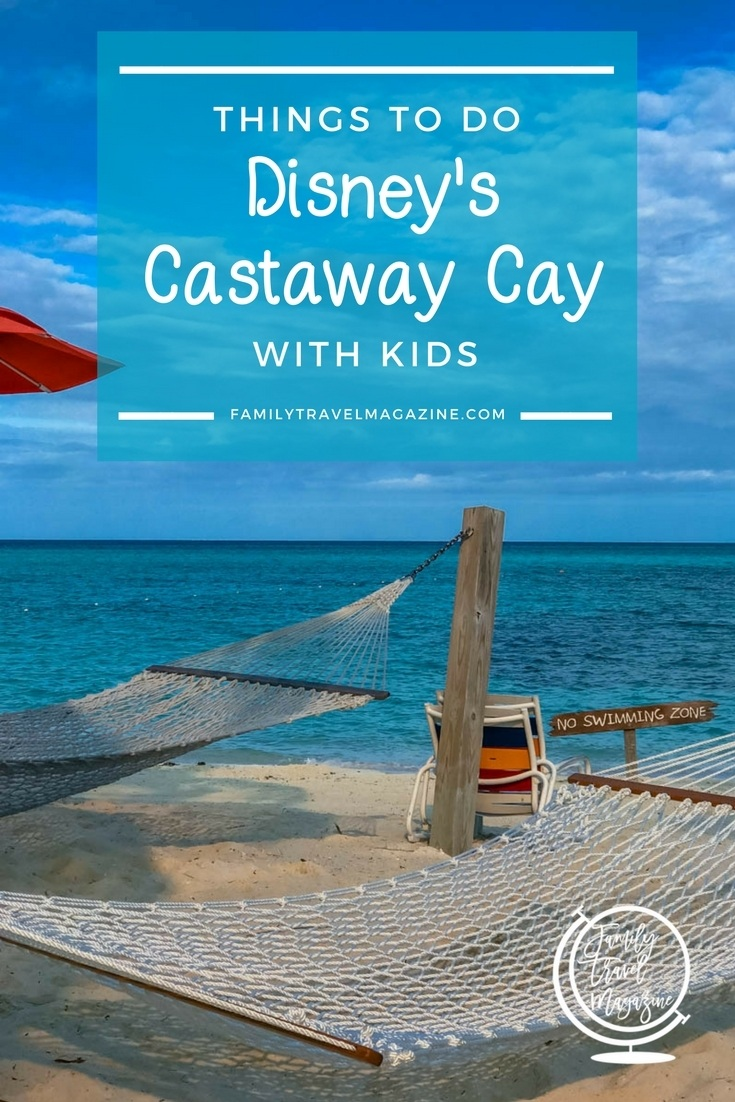 Things to do at Disney's Castaway Cay, including tips and activities such as snorkeling and renting a cabana.