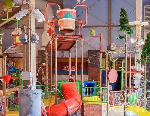 The Great Wolf Lodge Water Park