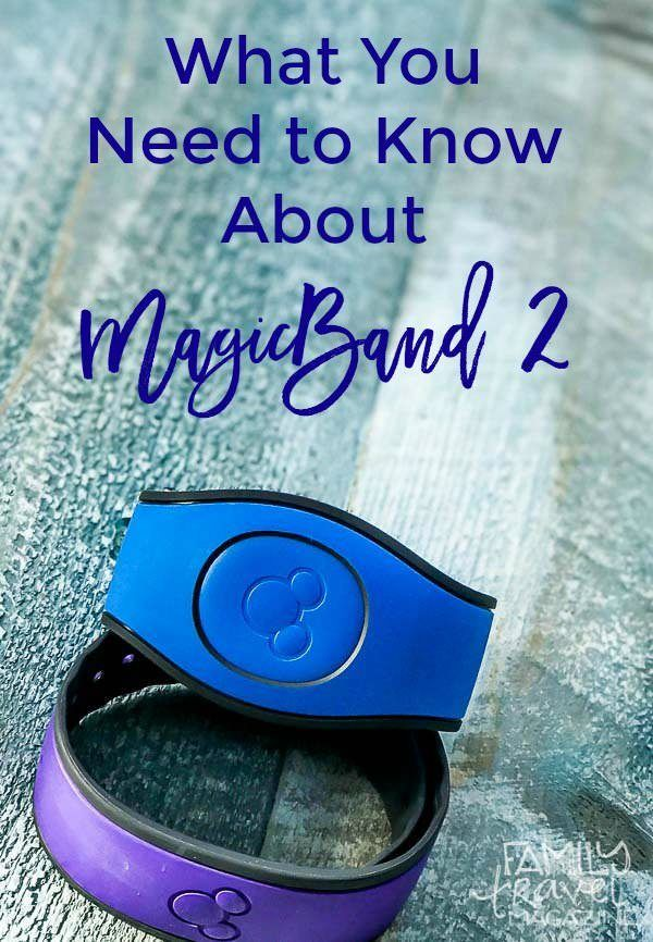 Everything You Need to Know About the New MagicBand 2, including accessories, decals to purchase, and functionality.