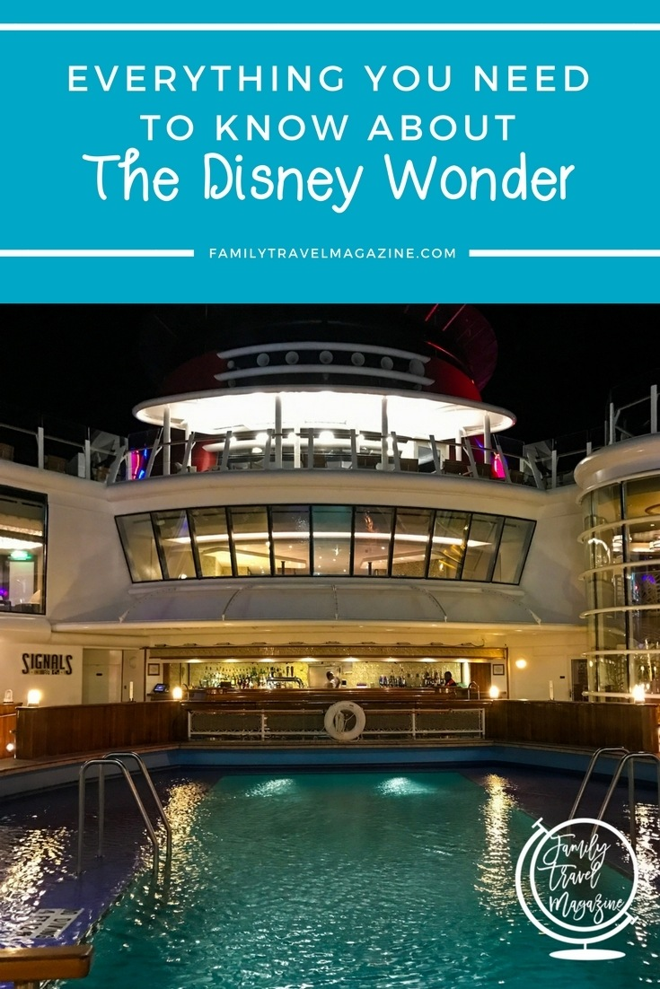 Everything you need to know about the Disney Wonder on the Disney Cruise Line, including tips, and information about staterooms, restaurants, and activities.
