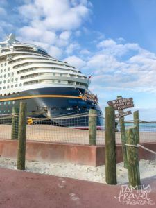 The Disney Dream at Castaway Cay