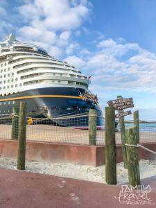 The Disney Dream at Castaway Cay