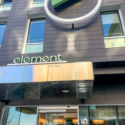 Review of the Element Boston Seaport Hotel