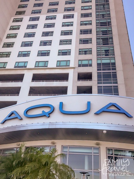 The exterior of the Westin Tampa Bay