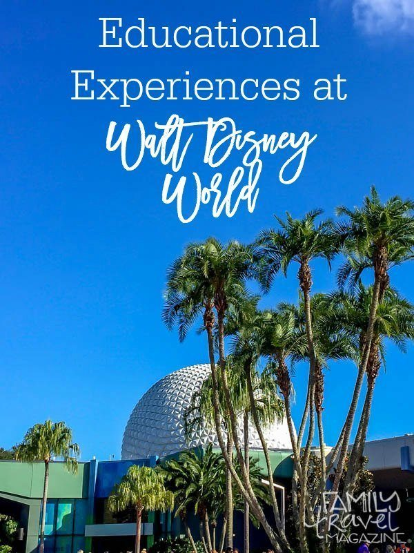 Educational experiences at Walt Disney World including activities and private tours at Animal Kingdom and Epcot.