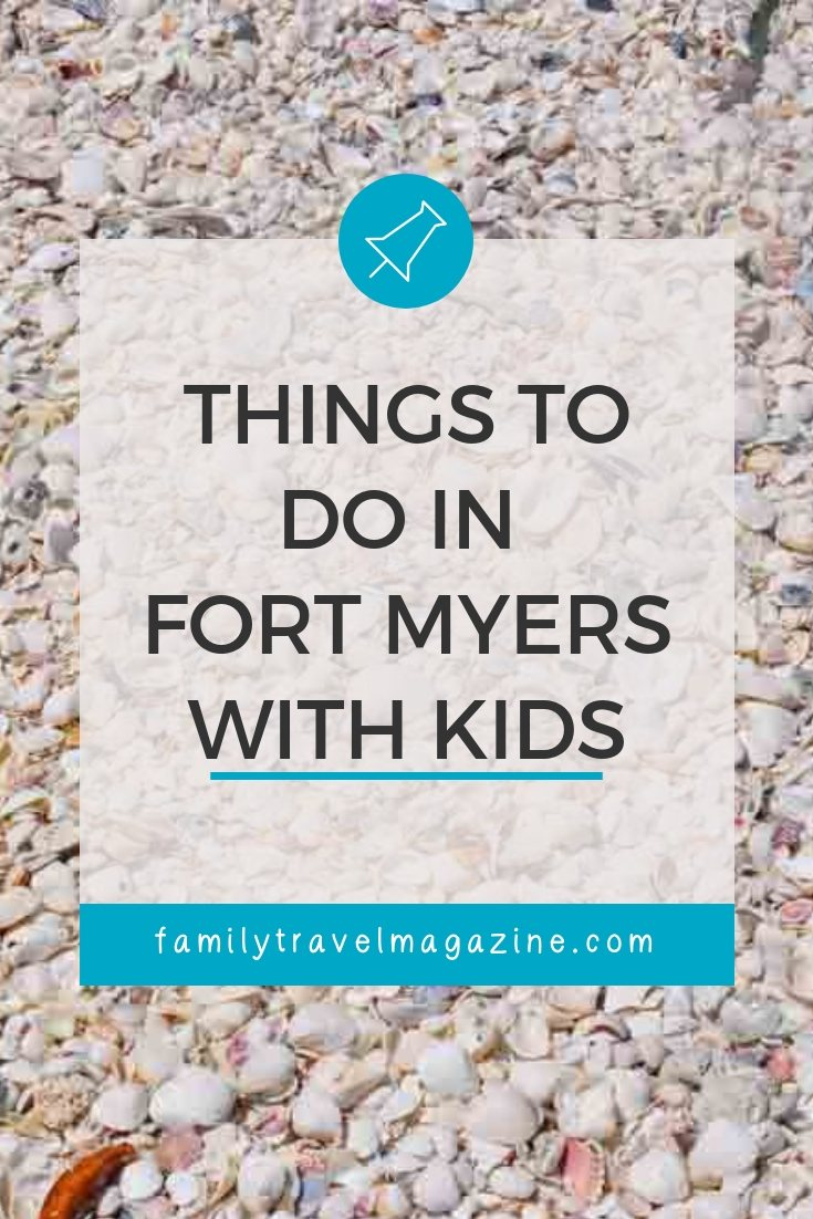 Fun things to do in Fort Myers Florida with kids, including Manatee Park, shelling, restaurants, day trips, and more.