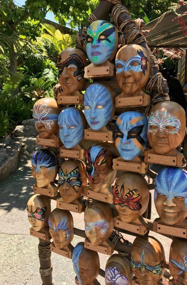 Face Painting at Pandora