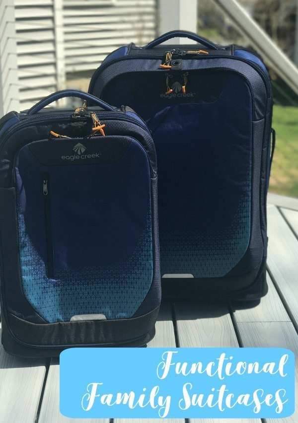 Eagle Creek functional suitcases for family travel