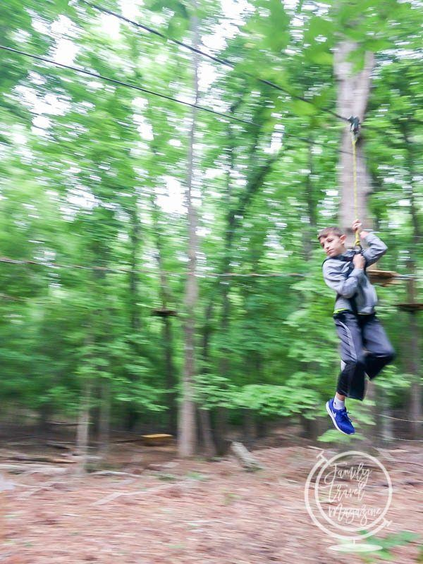 Go Ape! in Raleigh NC