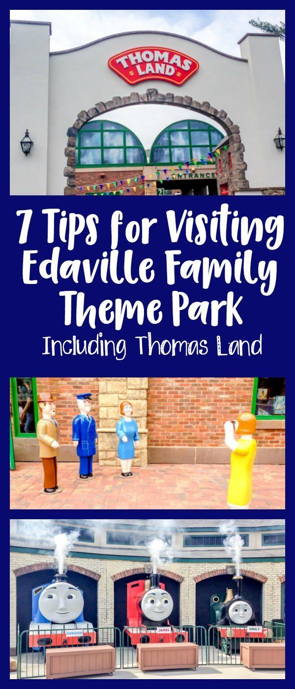 7 Tips for Visiting Edaville Family Theme Park - Including Thomas Land inspired by Thomas the Tank Engine.