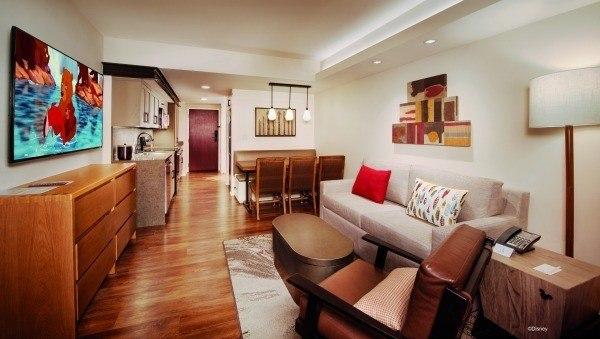 A one-bedroom villa at Copper Creek Villas and Cabins.