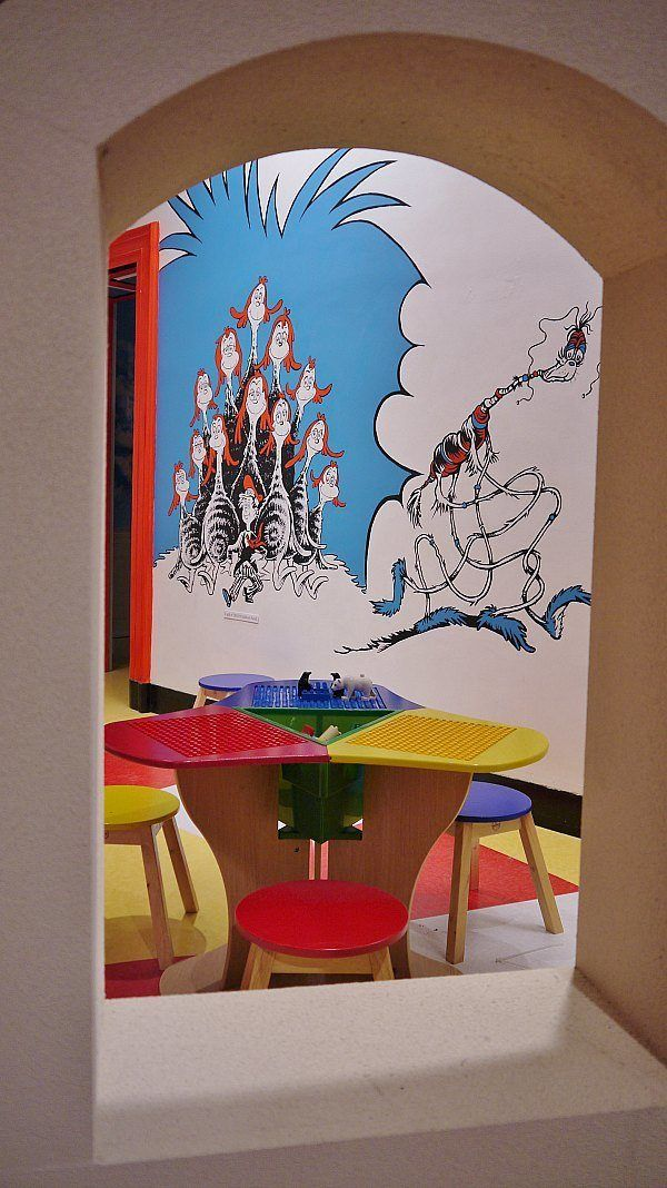 The Duplo Room at the Dr. Seuss Museum