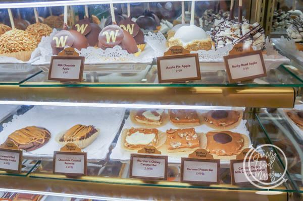 Must-Have Treats and Snacks at Walt Disney World, Including Dole Whips, Zebra Domes, Mickey Bars, and Beignets.
