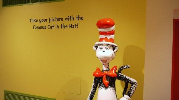 Take your picture with the cat in the hat at the Dr. Seuss museum