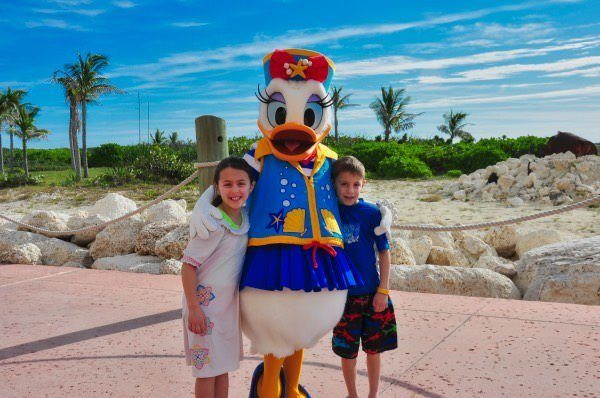 Characters on the Disney Cruise Line