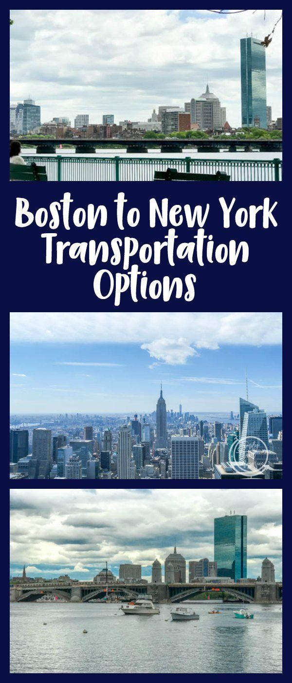 Boston to New York Transportation options, including the Acela, the LimoLiner, and driving.