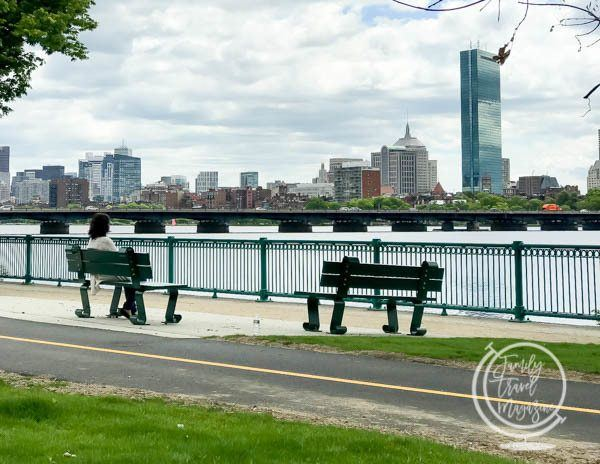 Boston from Memorial Drive