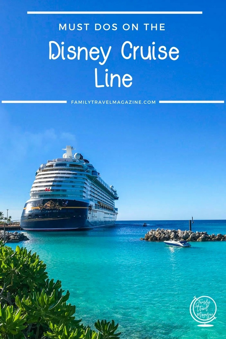 Must-dos on the Disney Cruise Line, including the Rainforest Room, the Cove Cafe, beverage seminars, Bingo, and animation classes
