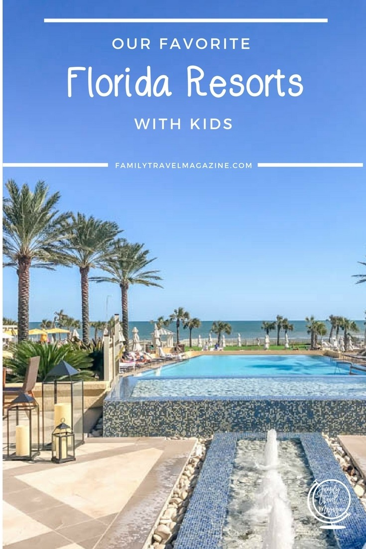 Our favorite Florida resorts with kids, including resorts in Miami, Sarasota, and near Walt Disney World.