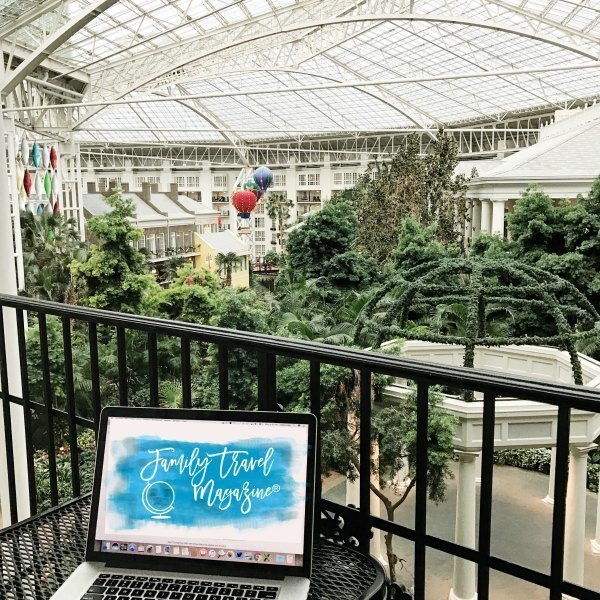 Balcony at the Gaylord Opryland