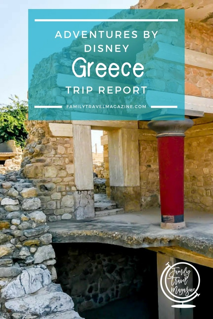 My Adventures by Disney Greece trip report, describing all ten days of our trip that went to Athens, Santorini, and Crete.